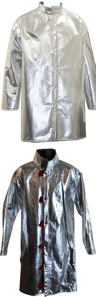 aluminized flame retardant coat/jacket