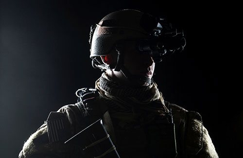 soldier in tactical gear from carbonx